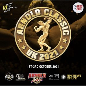 Competition internationale Arnold Classic Angleterre 1er octobre