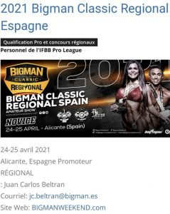 Bigman Classic Espagne 24 25 avril 2021