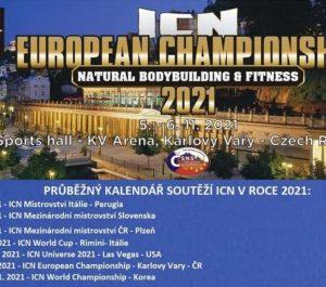 ICN championnats d'Europe 5 novembre Republique Tchèque