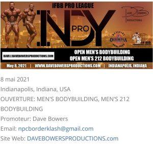 IFBB Pro League 8 Mai 2021